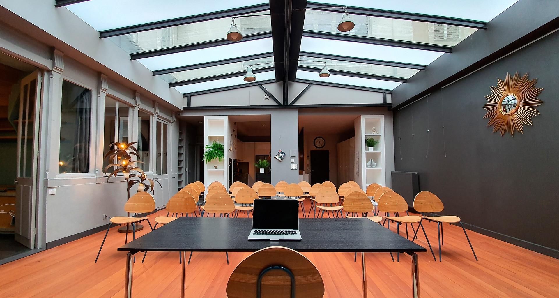 Espace conférence à louer à Nantes