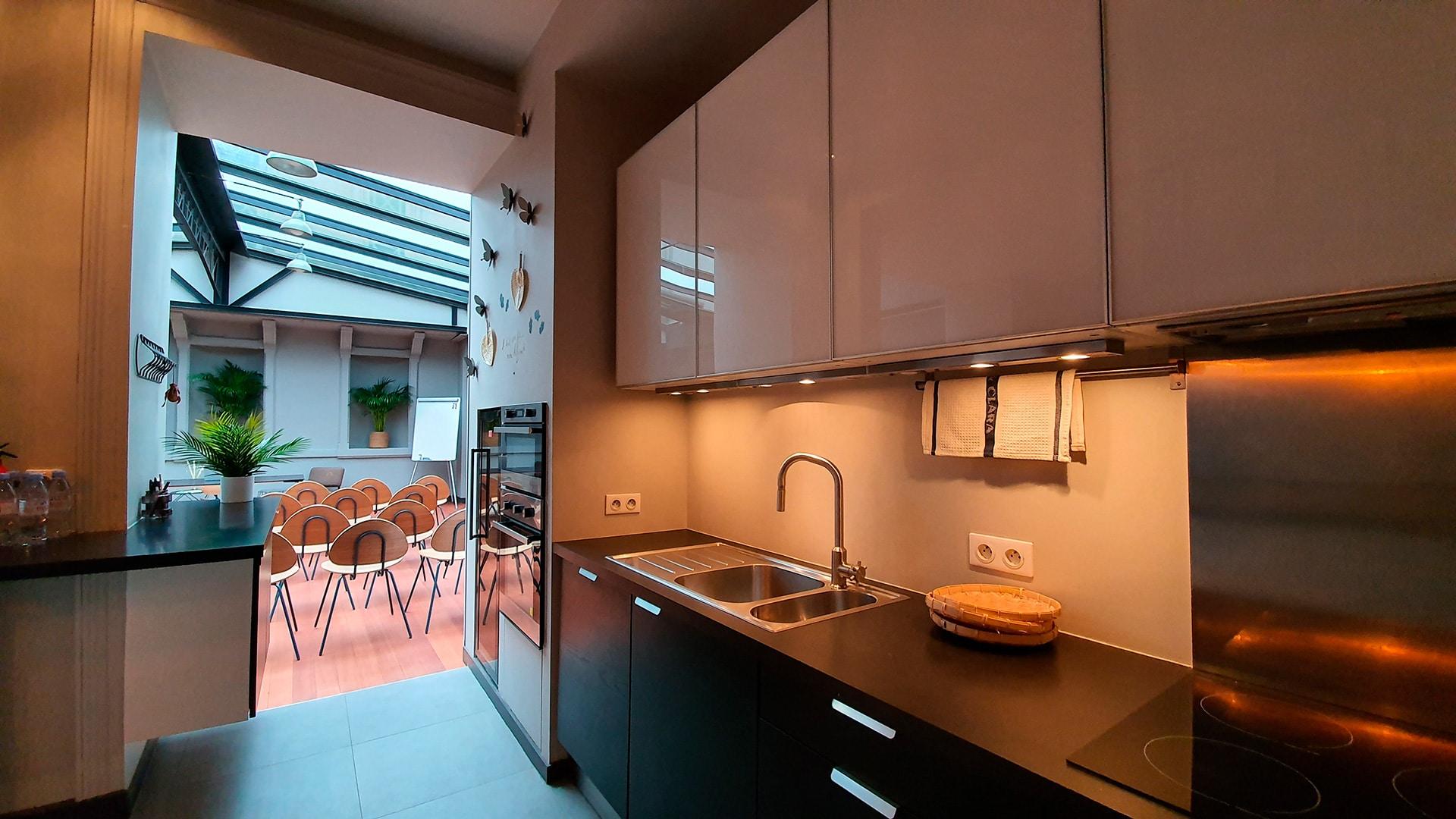 Studio Bréa, la cuisine